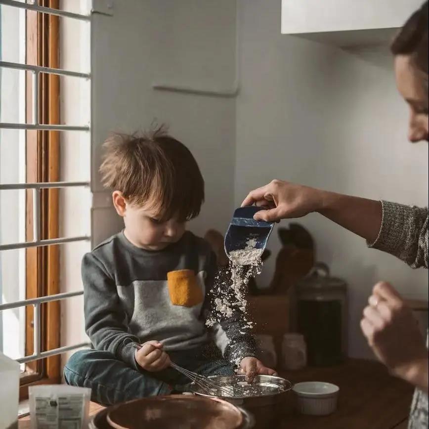 蔡少芬的育儿妙招:日常小事也能促进孩子成长